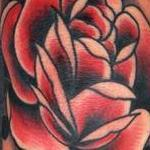 rose traditinal old school Tattoo Design Thumbnail
