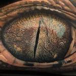 Gator Eye Tattoo Design Thumbnail