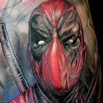 Dead Pool Tattoo Design Thumbnail