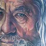 Gandalf Tattoo Design Thumbnail