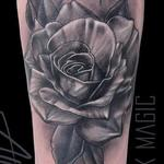 tattoos/ - Black and Gray Rose - 129294