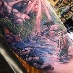 tattoos/ - Buddy memorialThe context is bitter sweet - 126479