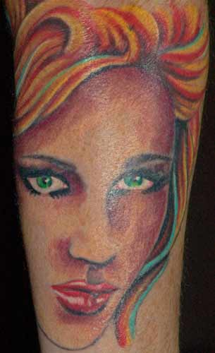 Tattoo Galleries: portrait Tattoo Design