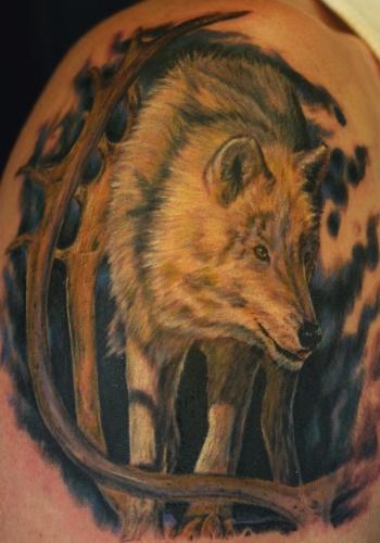 tattoos/ - Wolf - 20699