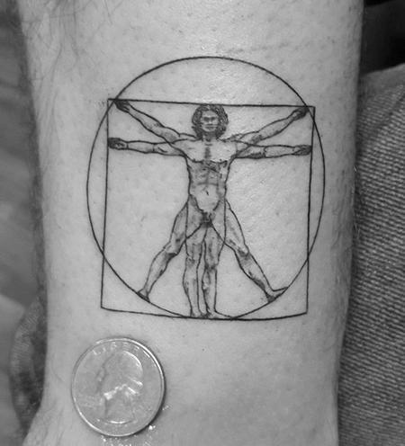 tattoos/ - Vitruviun Man - 132876