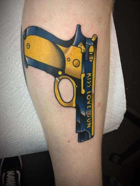 tattoos/ - Kiss love gun - 133660