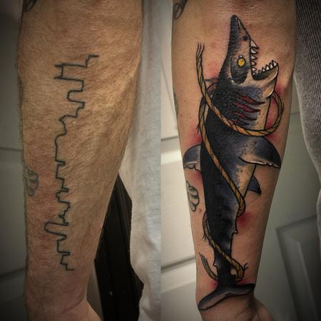 Coverup - Shark cover up