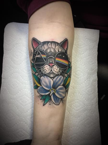 tattoos/ - Pink Floyd kitty - 132114