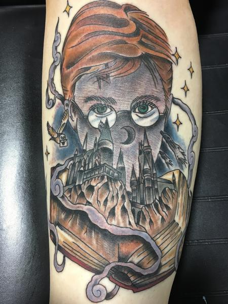 tattoos/ - Fun Harry Potter mashup  - 130852