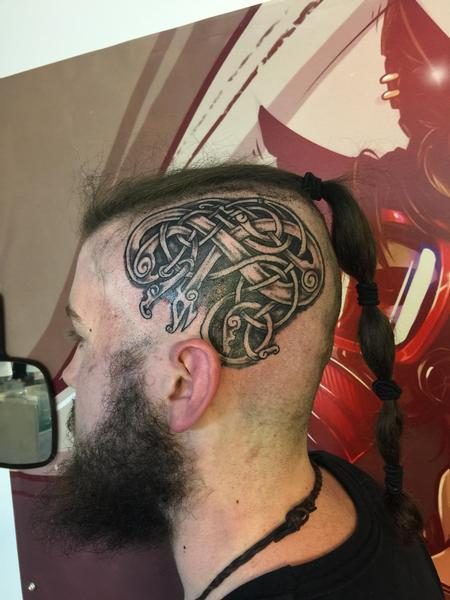 tattoos/ - Celtic head knot - 130608