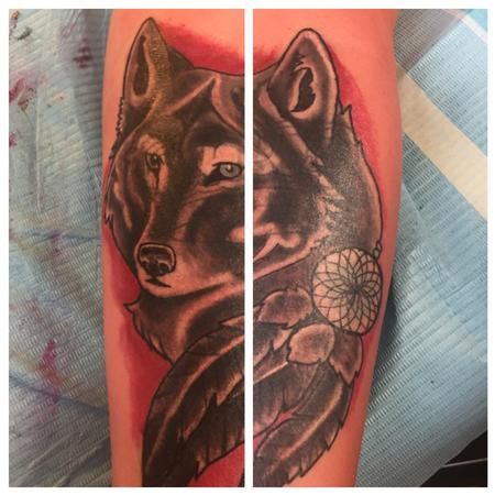 tattoos/ - Wolf coverup - 128875