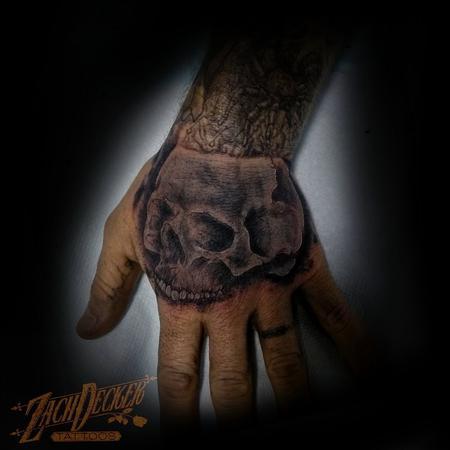tattoos/ - Black and Grey Skull - 131998