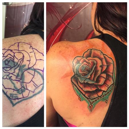 Coverup - Rose coverup