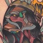 Traditional color hand with girls face tattoo, Gary Dunn Art Junkies Tattoo Tattoo Design Thumbnail