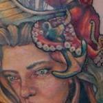nautical mermaid tattoo Tattoo Design Thumbnail