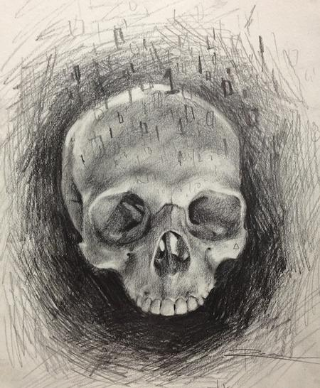 Art Galleries - Skull Study - 75961