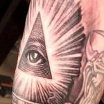 Illuminati all seeing eye tattoo Tattoo Design Thumbnail
