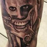 joker tattoo portrait new joker batman movie suicide squad Tattoo Design Thumbnail