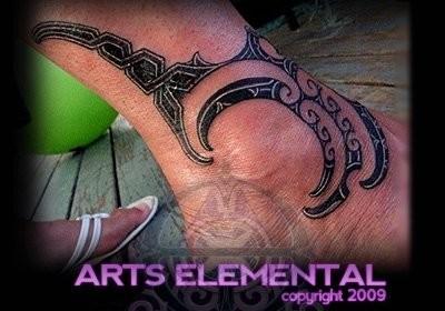 tattoos/ - Ta moko back - 49570