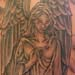 tattoo galleries/ - Angel in Graveyard tattoo