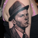 Georgia's Frank Sinatra portrait Tattoo Design Thumbnail