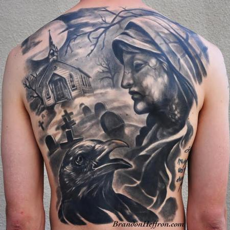 Cross - Cemetery Backpiece