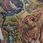 tattoo galleries/ - Wildlife Backpiece  - 122812