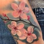 Cherry Blossoms Tattoo Design Thumbnail