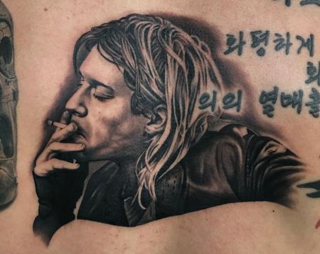 tattoos/ - Kurt Cobain Tattoo - 128461