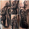 Batman & Catwoman Tattoo Design Thumbnail