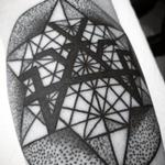 Masonic Sacred geometry symbol  Tattoo Design Thumbnail
