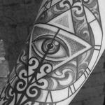 tattoos/ - Time and all seeing eye - 117835