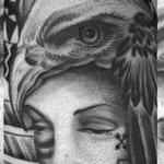 tattoos/ - Headdress eagle - 117836