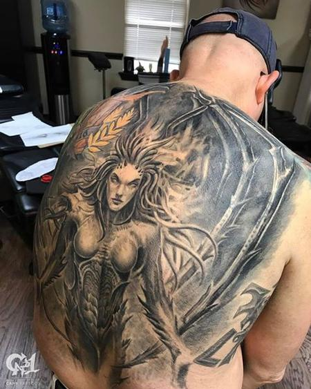 Tattoos - Kerrigan Starcraft Tattoo - 128179