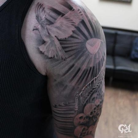 Tattoos - Stairway to Heaven Tattoo - 128182