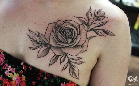 Tattoos - Rose Tattoo - 128183