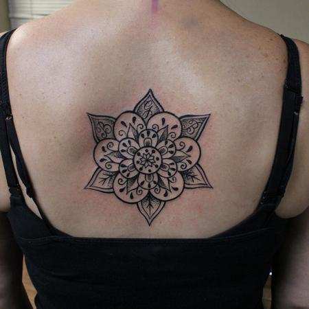 Small - Mandala Back Piece