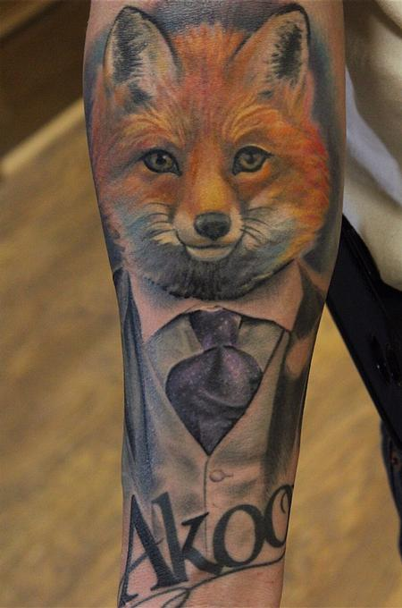 Tattoos - Gentleman Fox - 99587