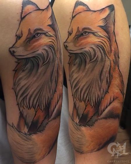 Tattoos - Fox Tattoo - 124875