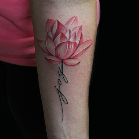 Tattoos - Joy Lotus Flower - 121948
