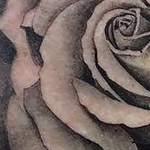 Black And Gray Rose Tattoo Tattoo Design Thumbnail