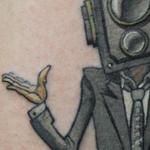 Camera Man Tattoo Tattoo Design Thumbnail