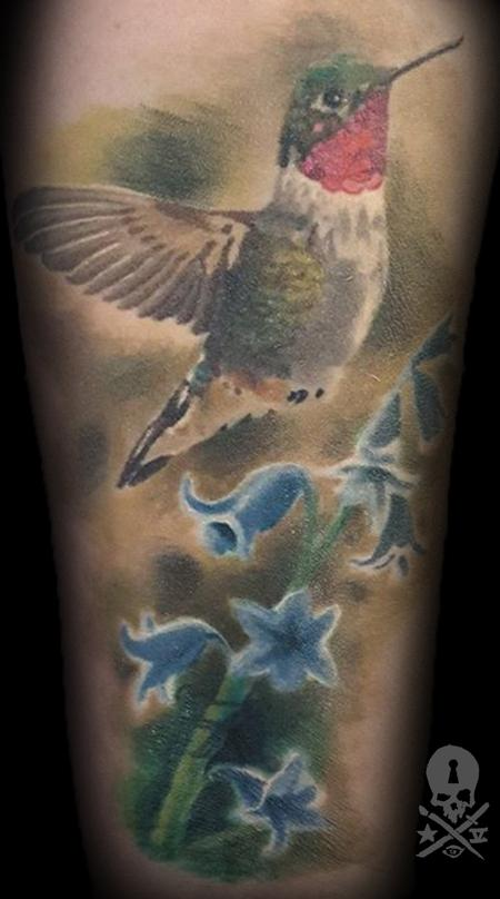 tattoos/ - Humming bird - 131399