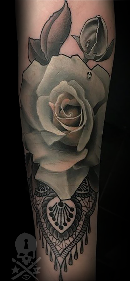 tattoos/ - Rose - 133253