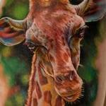 Giraffe Tattoo Design Thumbnail