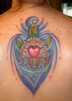 Tattoos - Turtle Tattoo - 59380