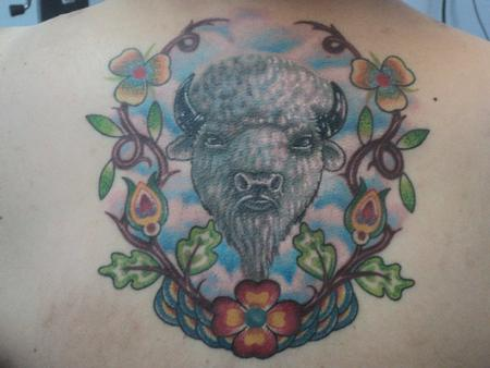 Tattoos - White Buffalo Tattoo - 59379