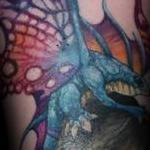 Fairy Dragon Tattoo Design Thumbnail