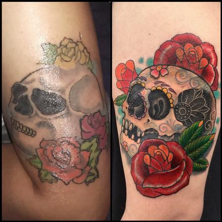 Coverup - Day of the Dead fix-up/cover-up