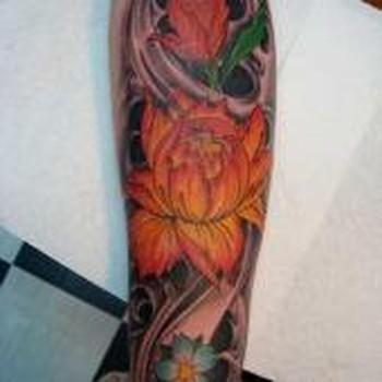 tattoos/ - lotus flower tattoo - 49331